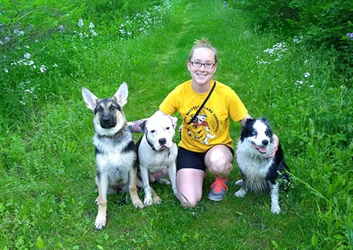 Kelsy and Dogs